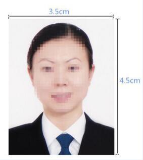 加拿大签证照片模板
