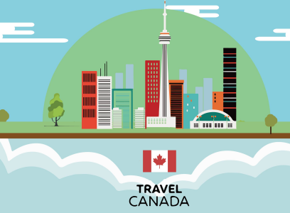 前往加拿大申请签证时应选择旅游还是访友类型?